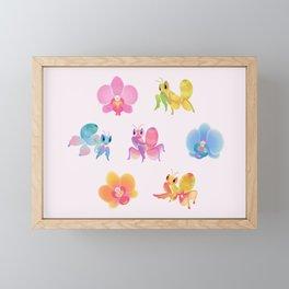 Orchid mantis Framed Mini Art Print