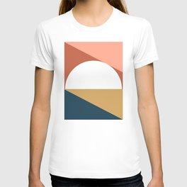 Mid Century Modern Sunset Nº1 T-shirt