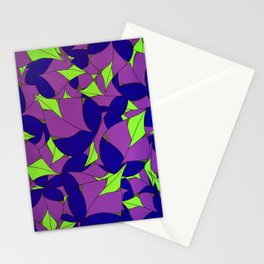 Lavender Leaves Stationery Cards