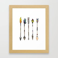 Arrow Collection Framed Art Print