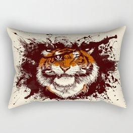 TigARRGH (Maroon and Orange) Rectangular Pillow