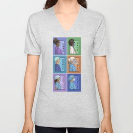 Pandemic Series - Version 1 Unisex V-Neck