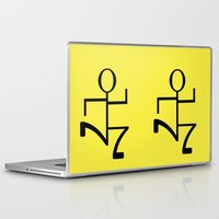 run Laptop & iPad Skins featuring Run by Beautiful Artworks