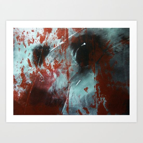 Up Against the Wall Art Print