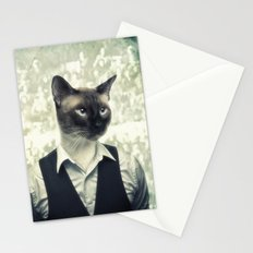 Fancy Cat Stationery Cards