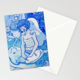 Reflecting upon Ghosts Stationery Cards