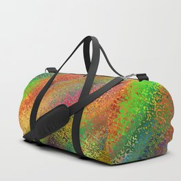 Abstract crayon background Duffle Bag