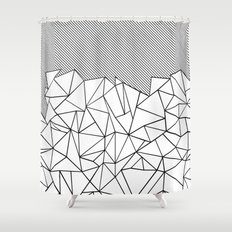 Ab Lines 45  Shower Curtain