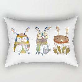 Rabbits Rectangular Pillow