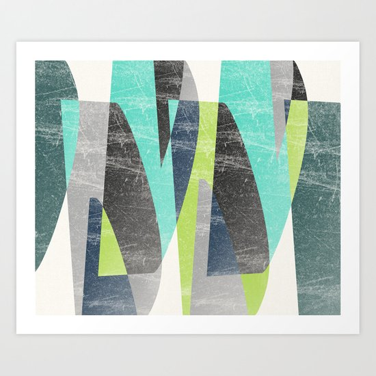 Fragments XV Art Print