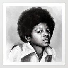 Young Michael Art Print