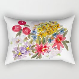 Farmers Market Bouquet 1 Rectangular Pillow