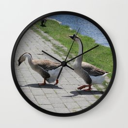 Bigs birds 2 Wall Clock