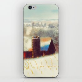 The Barn Over The Hill iPhone Skin