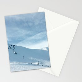mammoth mountain summit. Stationery Cards