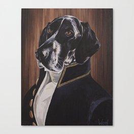 Mr Waylon, A True Gentleman Canvas Print