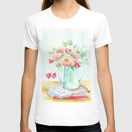 Tulips and French Enamelware T-shirt