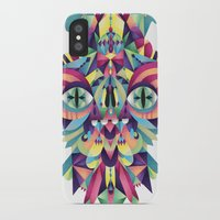 majoras mask iPhone & iPod Cases featuring Mask by Cobrinha