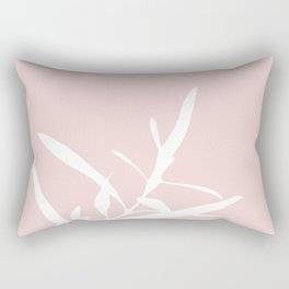 Branch in Silhouette Rectangular Pillow