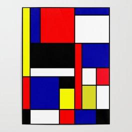 Mondrian #70 Poster