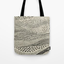 Hand Drawn Patterned Abstract II Tote Bag