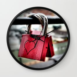 connected in love Wall Clock