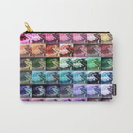 The Dancer Colorful Rainbow Collage Carry-All Pouch