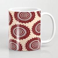 ethnic Mugs featuring Ethnic by Iris López