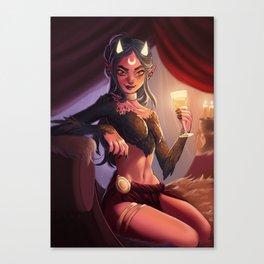 Demontress Canvas Print