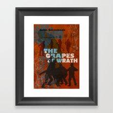 The Grapes of Wrath Framed Art Print