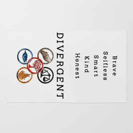 DIVERGENT - ALL FACTIONS Rug