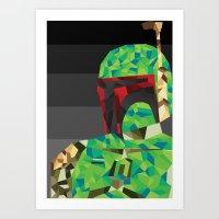 boba Art Prints featuring Boba by Ardylles Kurniawan