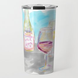 Wine Down Travel Mug
