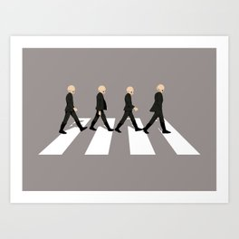 Cantina Road Art Print