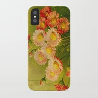 postcard iPhone & iPod Cases featuring Vintage Postcard by Connie Goldman