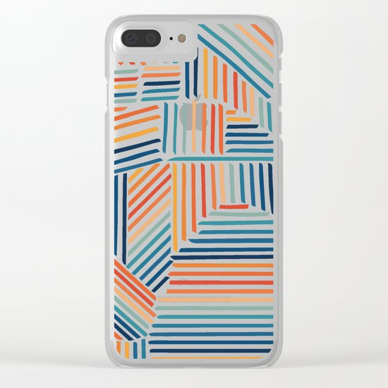 Strypes Clear iPhone Case