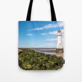 Black Rock Lighthouse Tote Bag