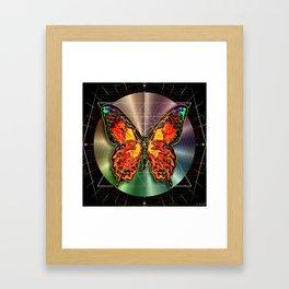 Geometron Fyr Lepidoptera Framed Art Print