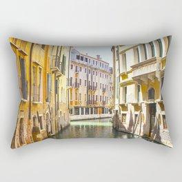 A Gondola Ride through Venice Rectangular Pillow