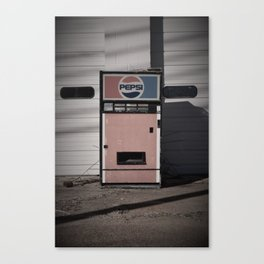 Old School Vending Canvas Print