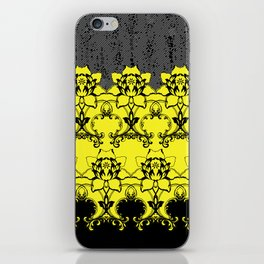 Damask Floral Texture iPhone Skin