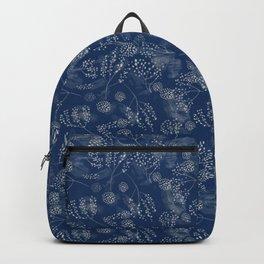 Shibori Tye Dye Indigo Backpack