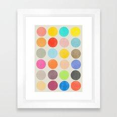 colorplay 1 Framed Art Print