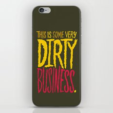 Dirty Business. iPhone & iPod Skin