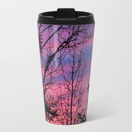 Sunrise Through The Trees 2 Travel Mug