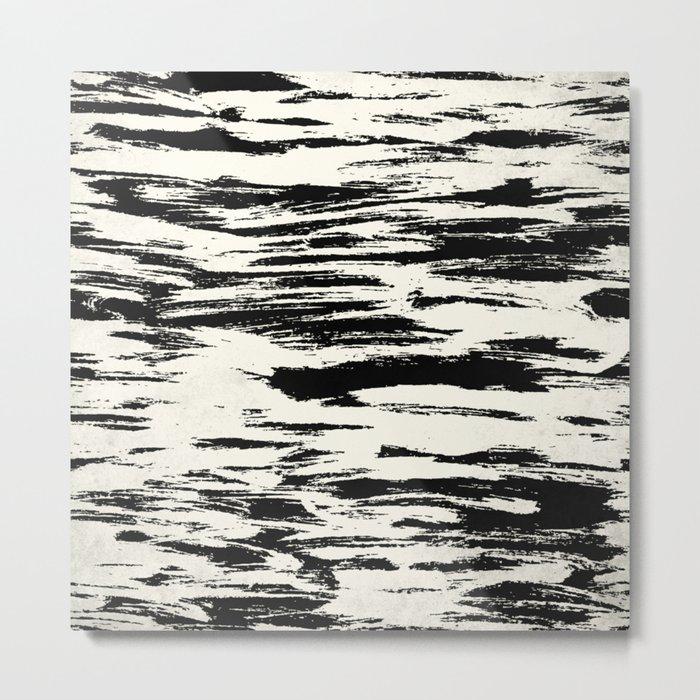 Brush Stripe 1 Metal Print