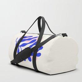 Blue Matisse Ferns Duffle Bag