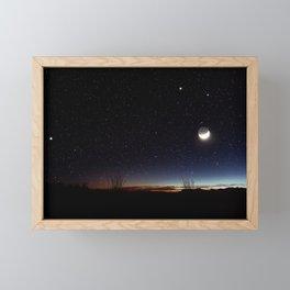 Road trip to Big Bend Framed Mini Art Print