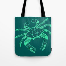 Green Crab Tote Bag