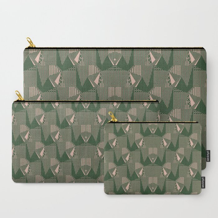40's pattern bold Carry-All Pouch